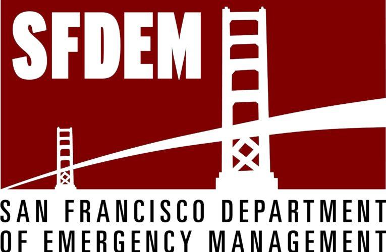 Emergency Alert: San Francisco Department of Emergency Management